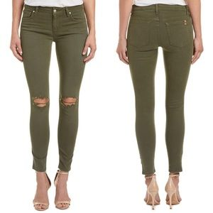 NWT Joe's Jeans Skinny Ankle in Light Olive
